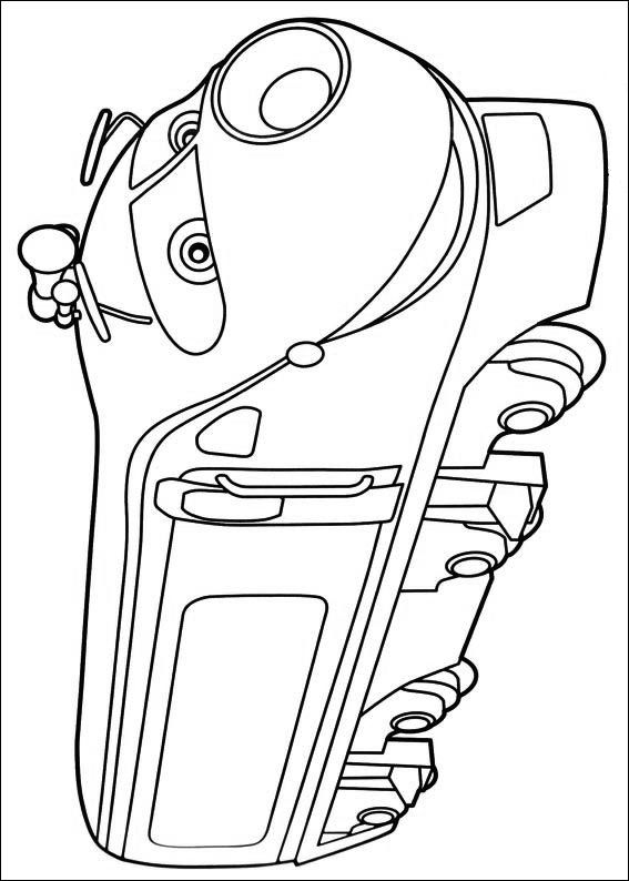 chuggington coloring pages - 500