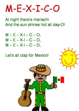 cinco de mayo coloring pages - msong mexico