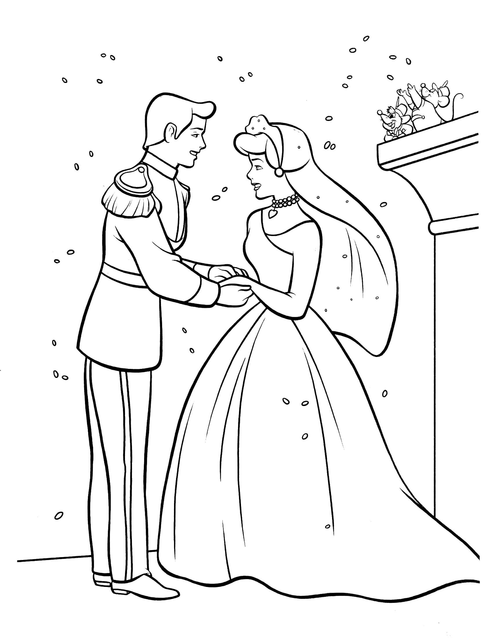 28 Cinderella Coloring Pages Printable | FREE COLORING PAGES