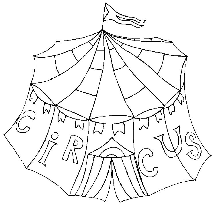 circus coloring pages - circus