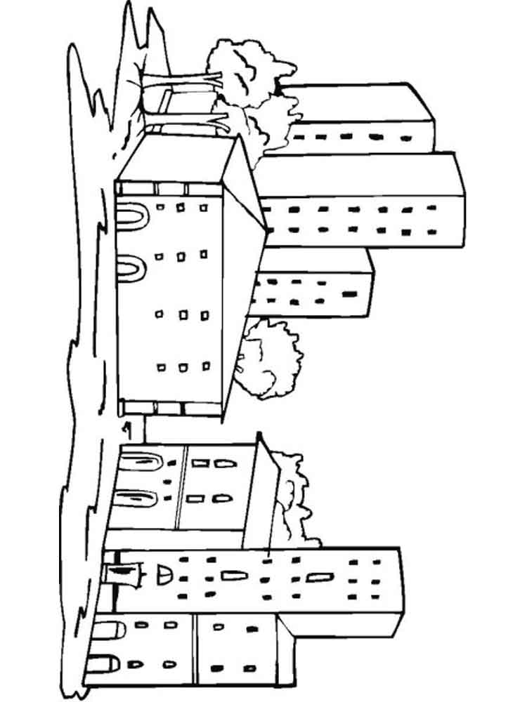 city coloring pages - city coloring pages