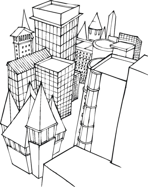 city coloring pages - r=city buildings