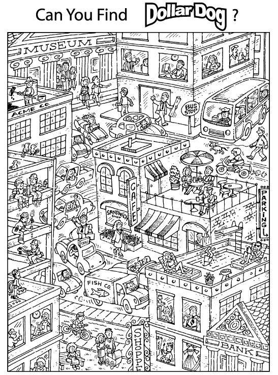 City Coloring Pages - Free Coloring Pages Of City