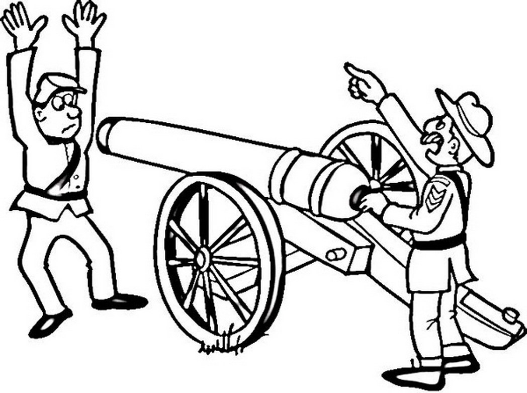 civil war coloring pages - civil war coloring pages
