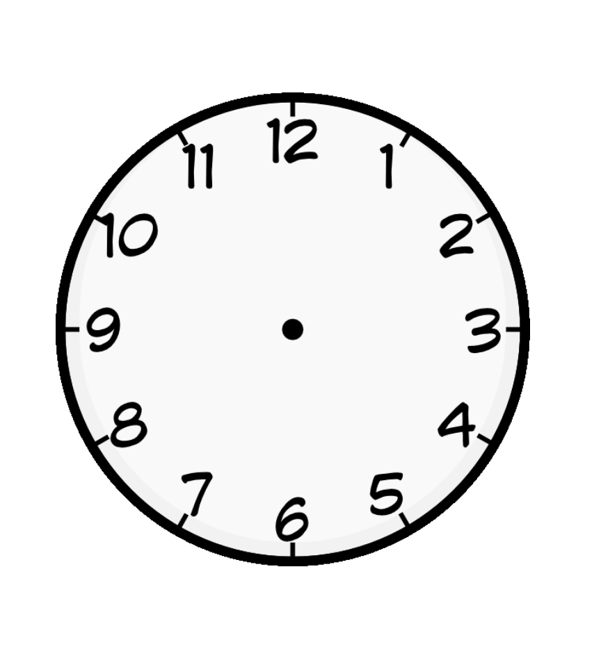 Clock Coloring Page - Free Coloring Pages Of Clock Faces