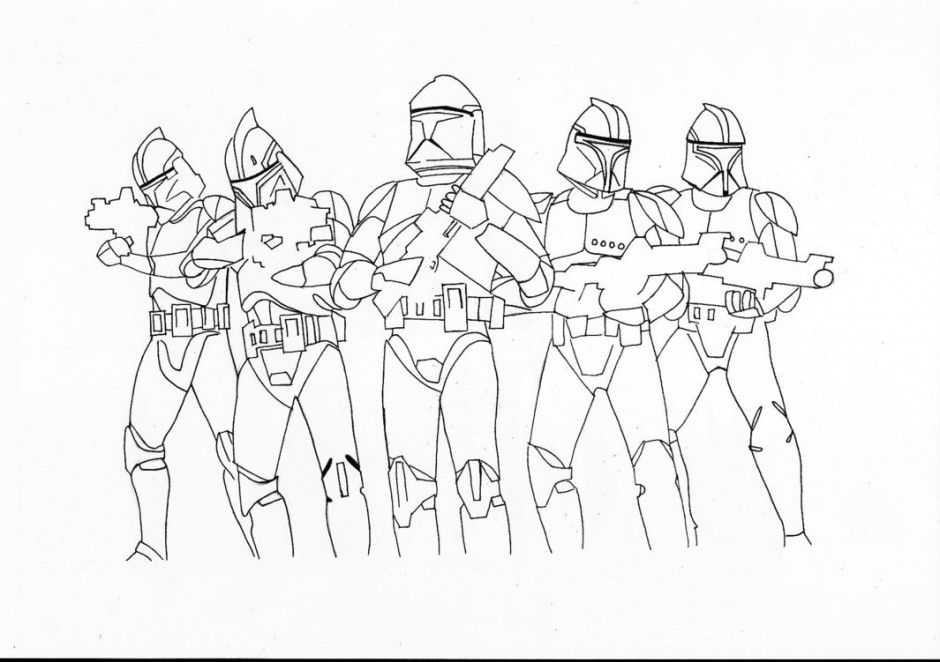 clone trooper coloring pages - clone trooper coloring pages