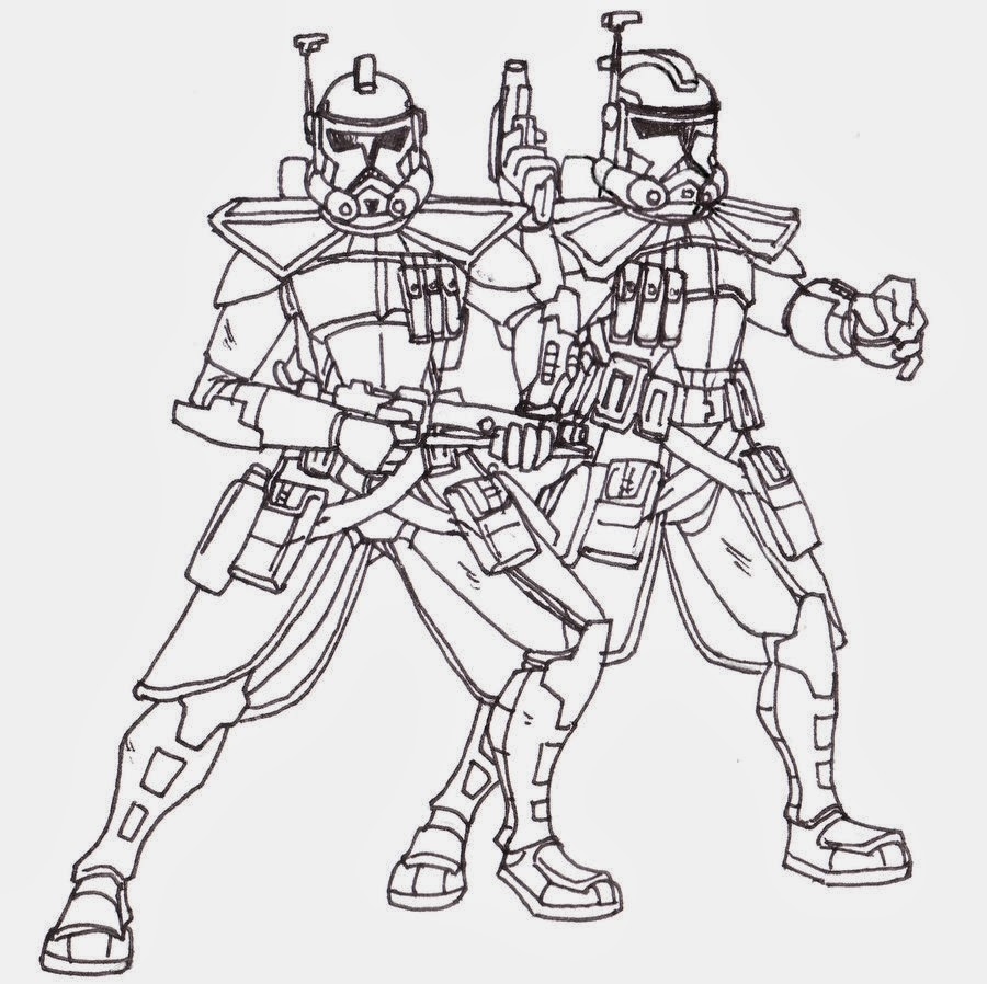 clone trooper coloring pages - clone trooper coloring pages printable sketch templates