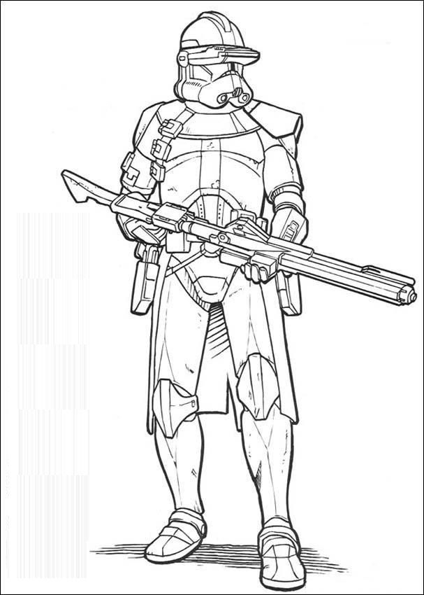 clone trooper coloring pages - clone trooper sniper coloring page sketch templates