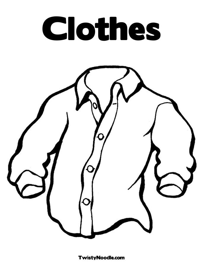 clothes coloring pages - q=clothes and dresses