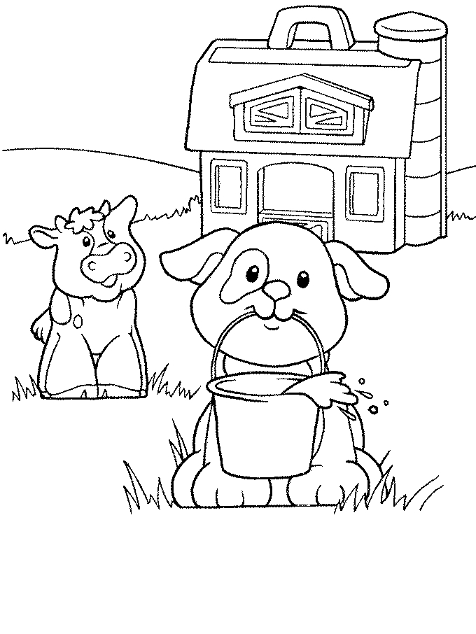 coco coloring pages - Little People