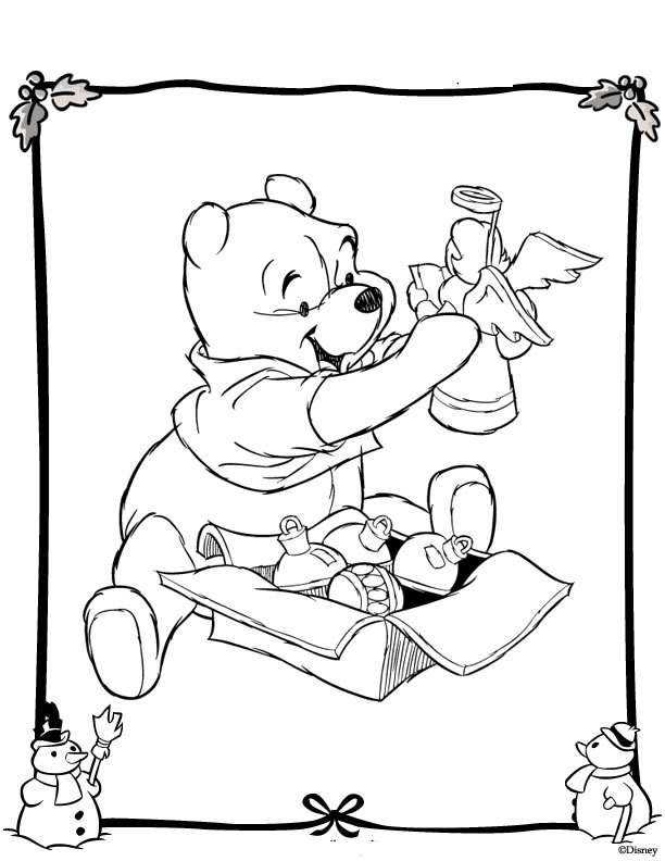 coco coloring pages - Christmas Disney