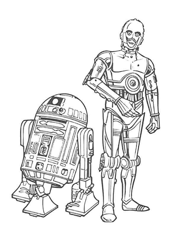coco coloring pages - star wars 8