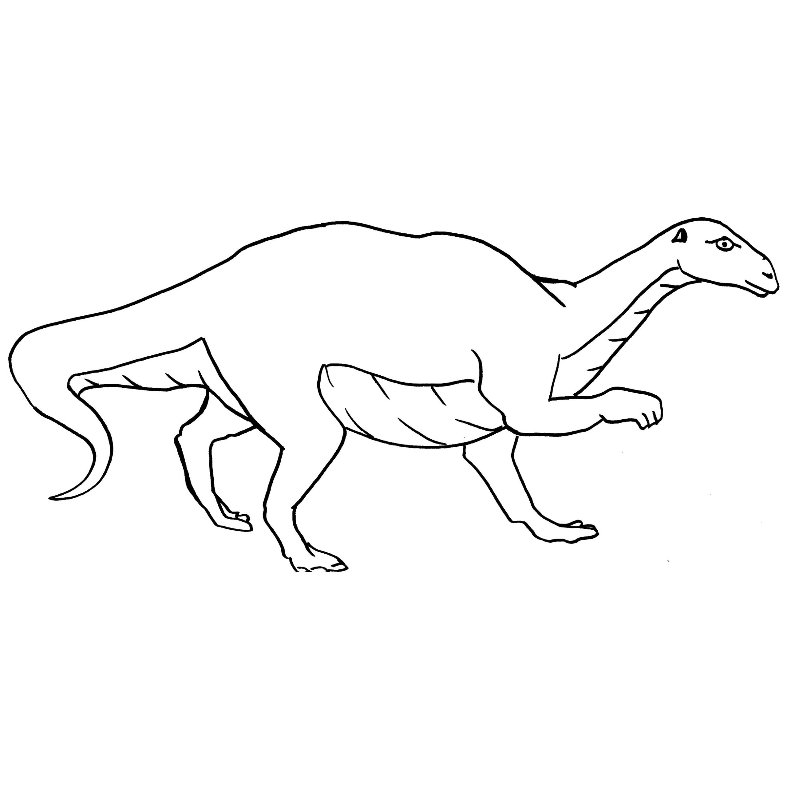 color by number coloring pages - maiasaura