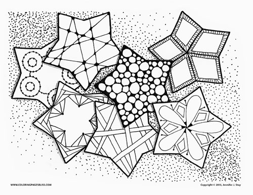Coloring Pages Bliss - Line Coloring