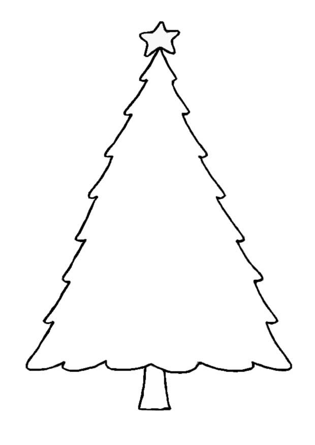 coloring pages coloring book - free printable christmas tree clipart