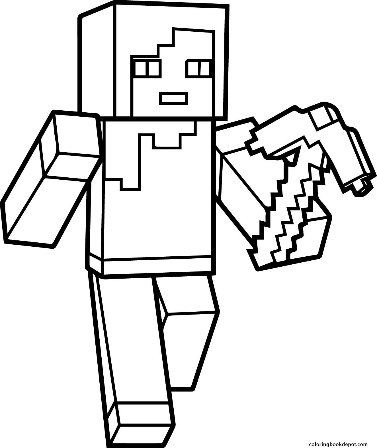 coloring pages coloring book - minecraft hd draw coloring pages 5451