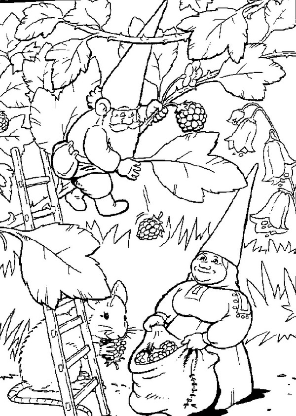 coloring pages for 10 year olds - david el gnomo