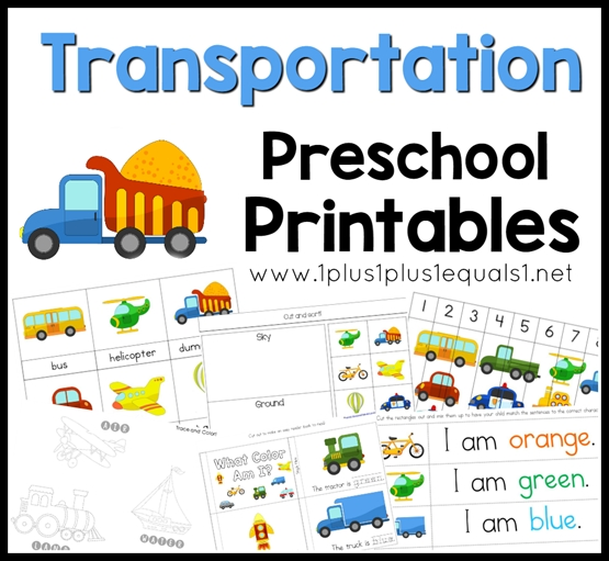coloring pages for 10 year olds - transportation preschool pack