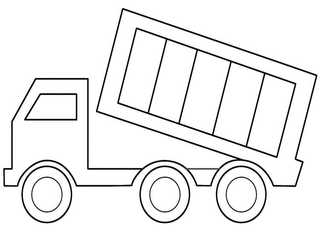 coloring pages for 3 year olds - 40 free printable truck coloring pages