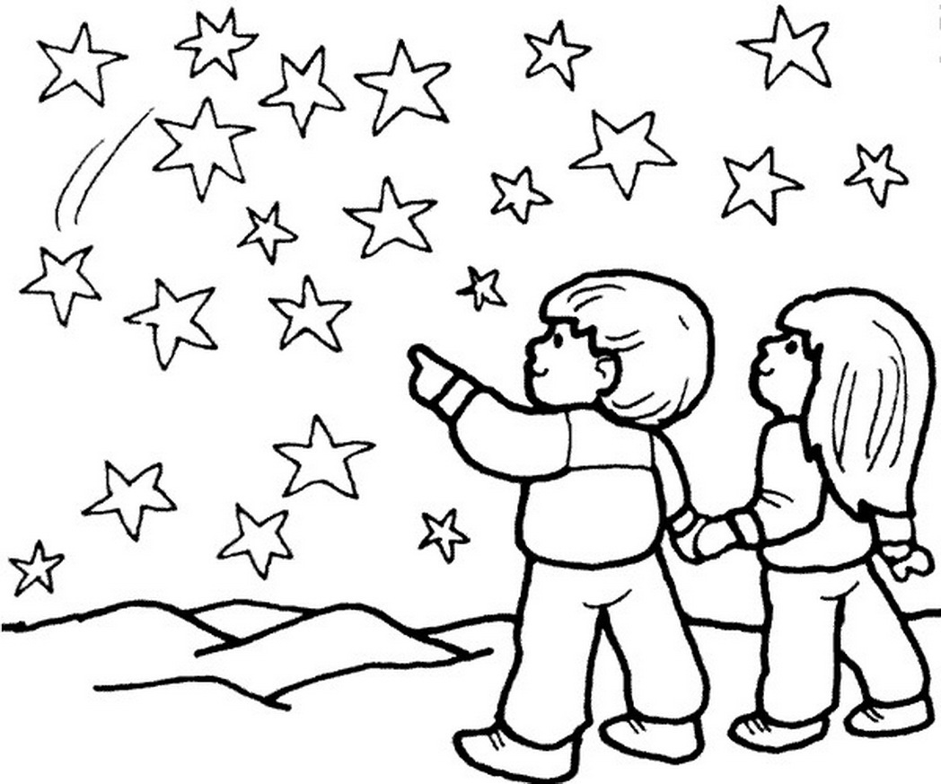 coloring pages for boys twinkle twinkle star coloring pages - Star Coloring Page 2