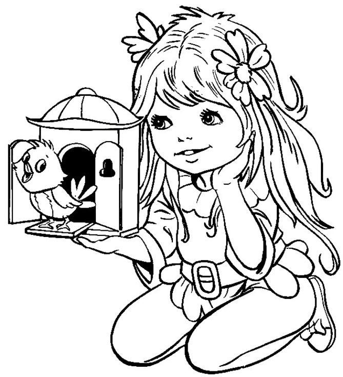 coloring pages for girls - coloring pages for girls