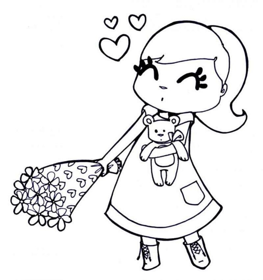 Coloring Pages for Girls - Coloring now Blog Archive Free Coloring Pages for Girls