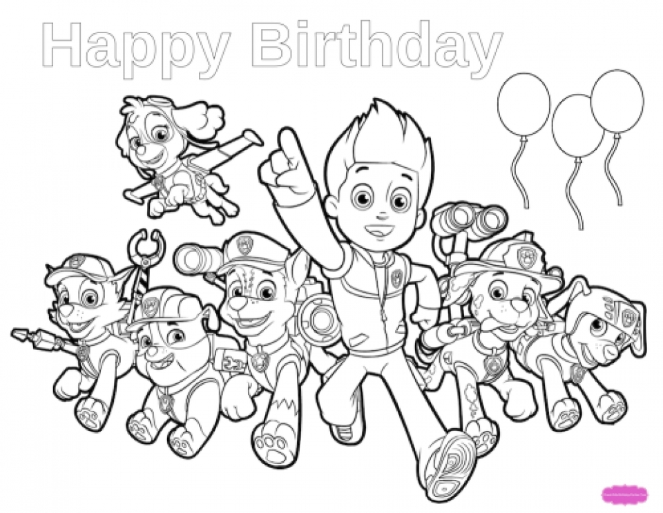 coloring pages for kid - paw patrol coloring pages online for kids