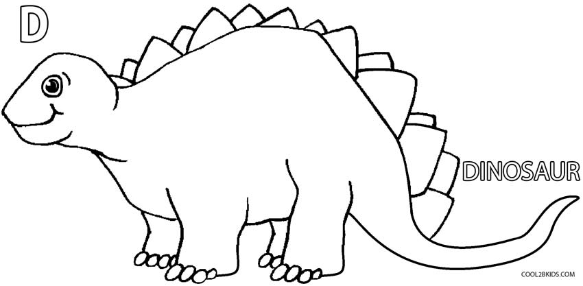 coloring pages for kid - dinosaur coloring pages