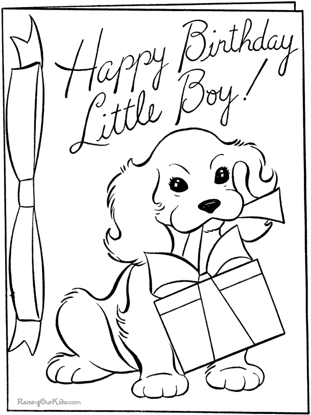 coloring pages for mother's day cards - birthday card coloring pages