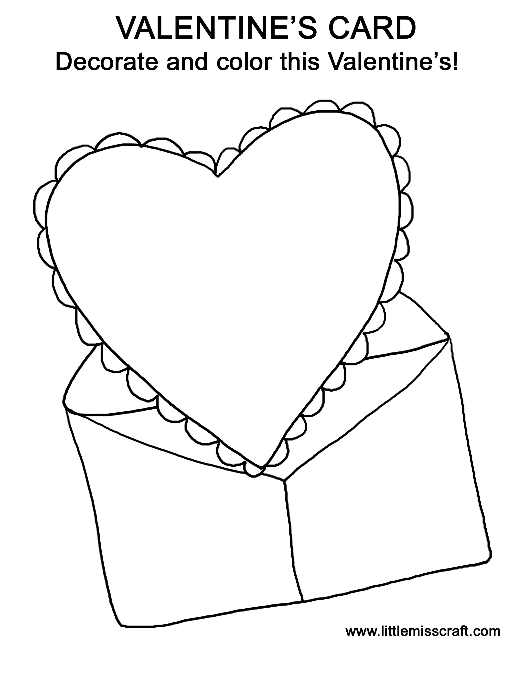 coloring pages for mother's day cards - post 114