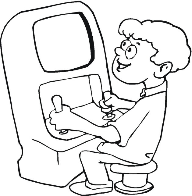 23 Coloring Pages Games Pictures | FREE COLORING PAGES