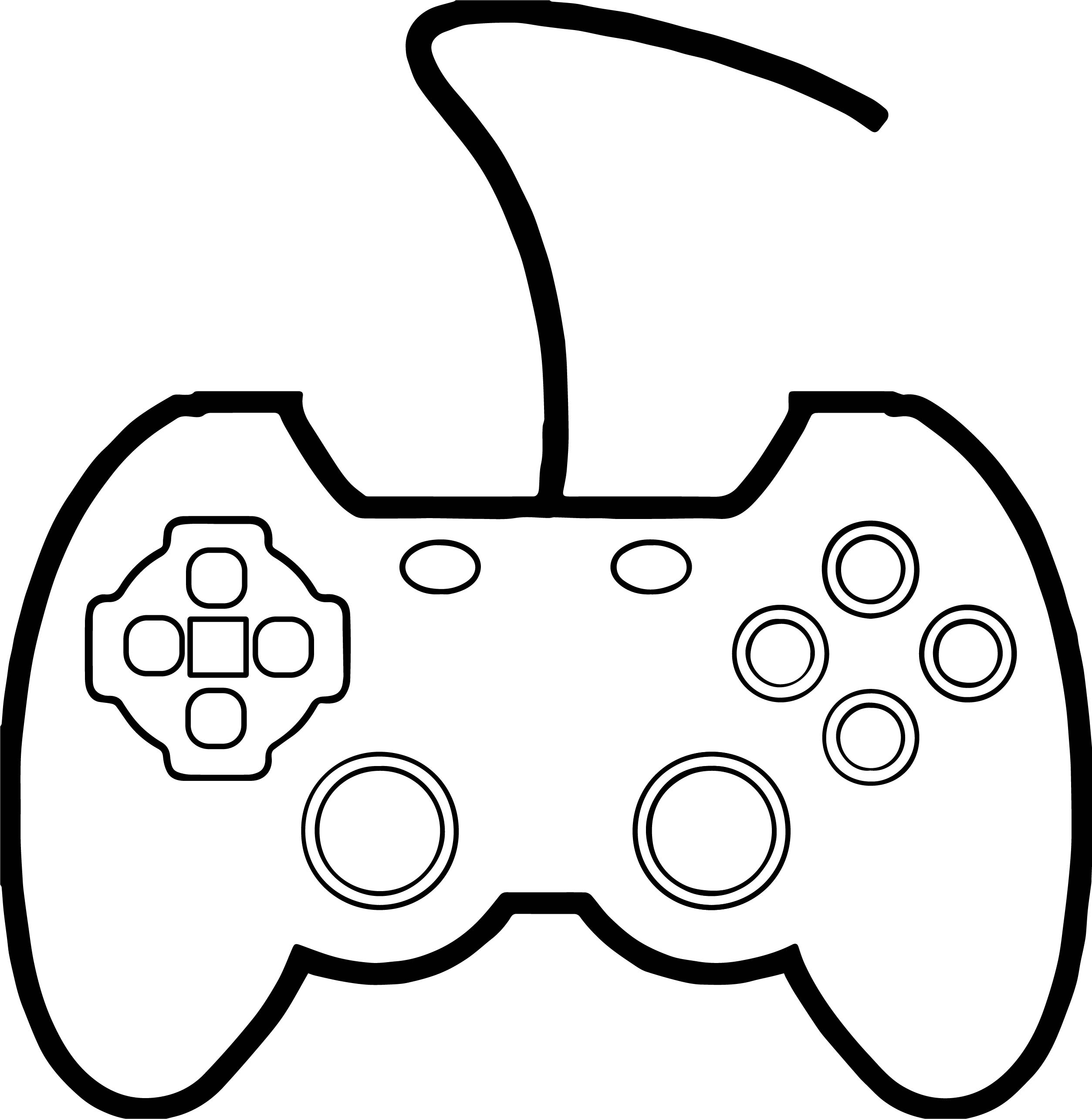 Xbox Coloring Pages Under Fontanacountryinn Com