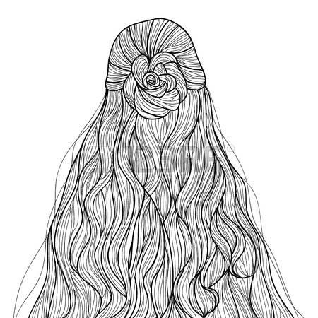 21 coloring pages hair images free coloring pages part 2 Coloring book hair