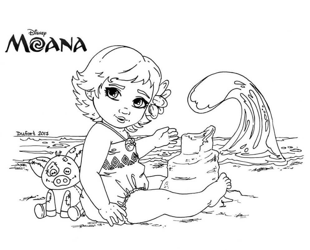 coloring pages moana - moana coloring pages