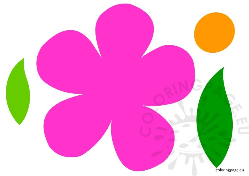 coloring pages of flowers and butterflies - flower templates