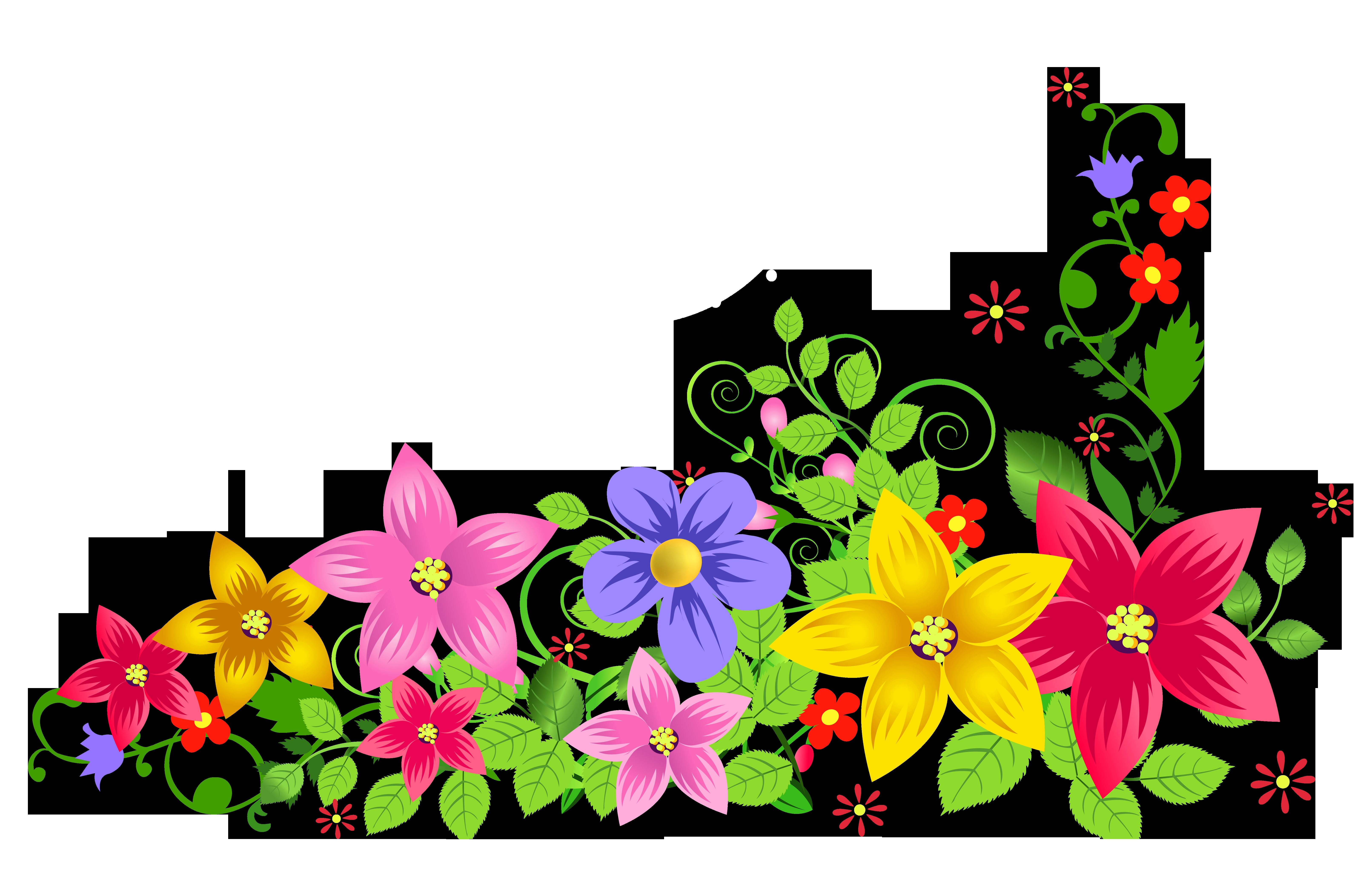 coloring pages of flowers and butterflies -