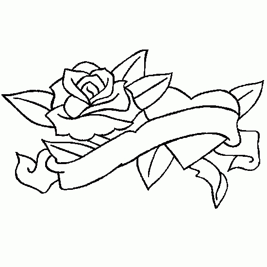 coloring pages of hearts and flowers - free coloring online heart flowers