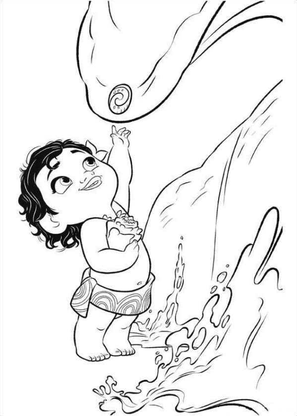 coloring pages of moana - moana coloring pages