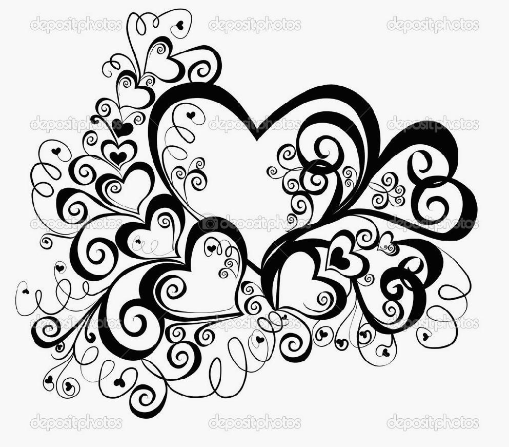 coloring pages of roses and hearts - awesome roses and hearts coloring pages 56 in coloring site with roses and hearts coloring pages