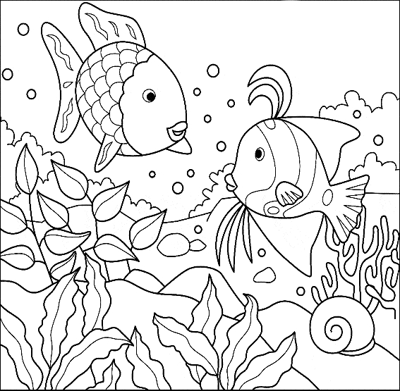 coloring pages to color - discus coloring 05