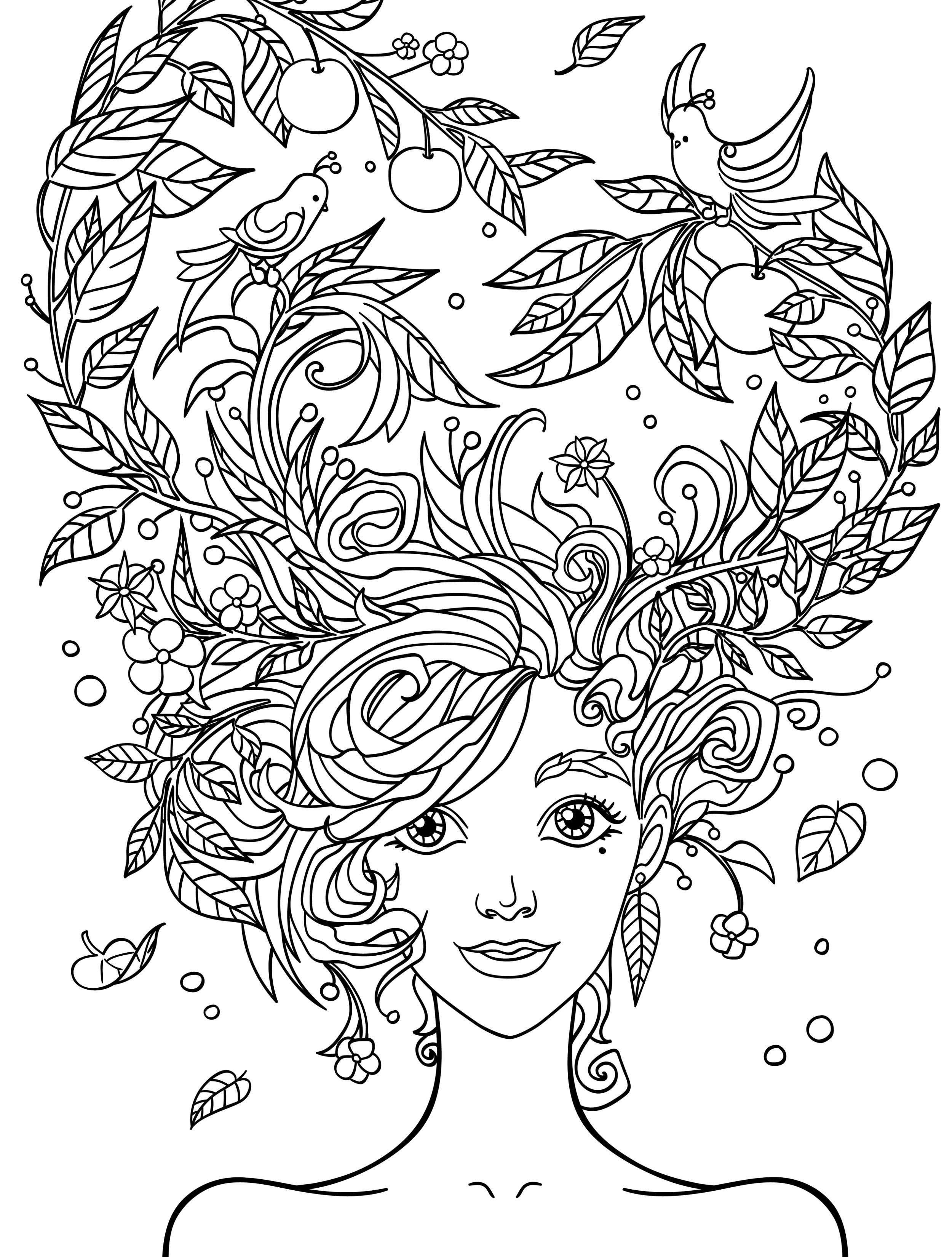 24 Coloring Pages to Color Online for Free for Adults Collections ...