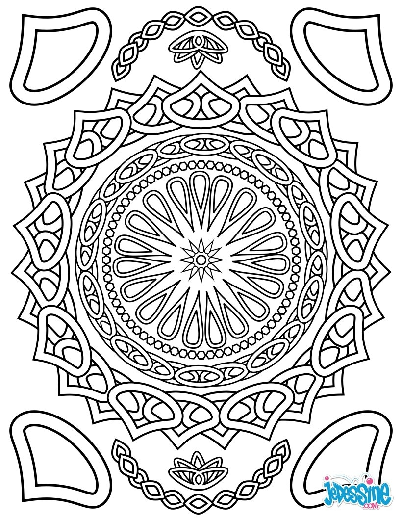coloring pages to color online for free for adults - coloriage pour adulte
