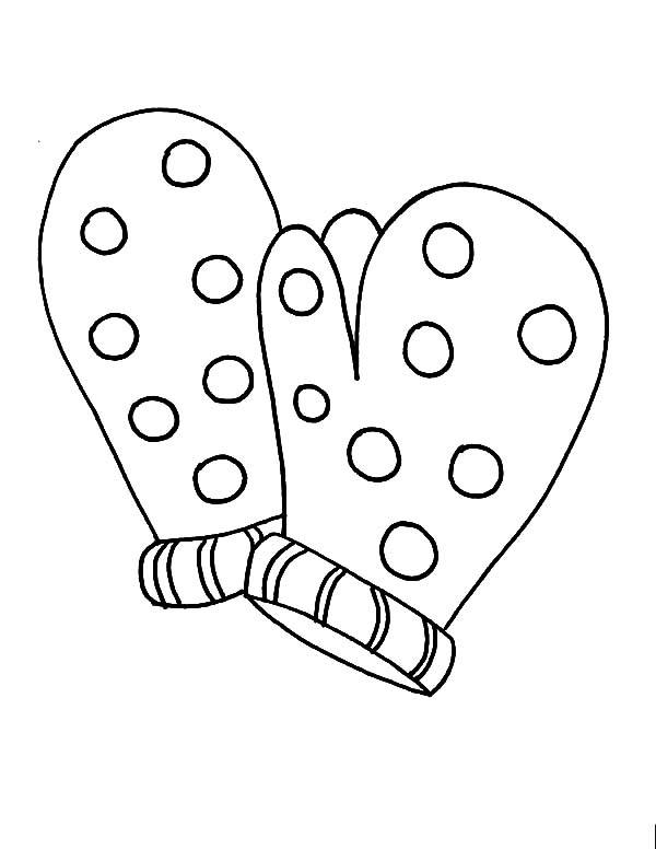 columbus day coloring pages - m is for mittens coloring pages