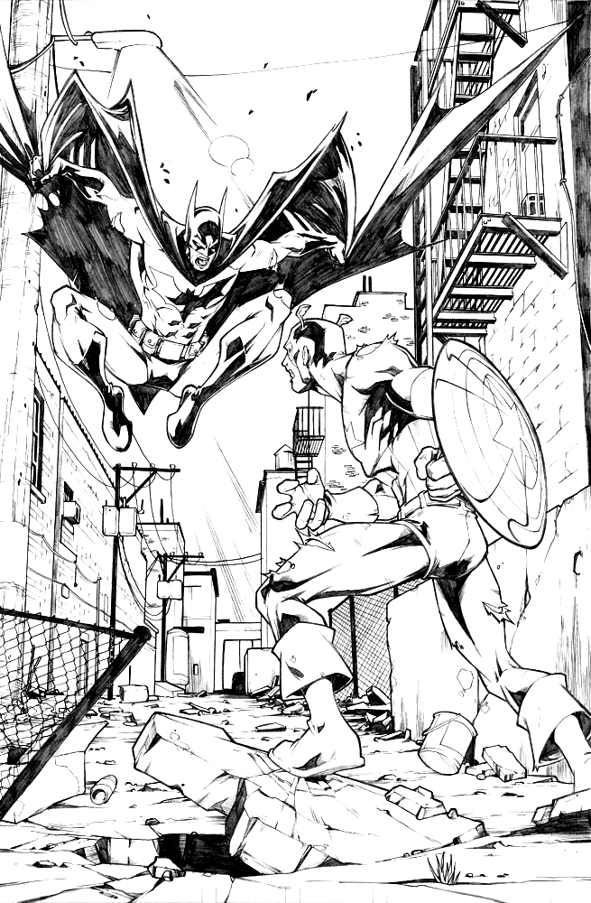 27 Comic Book Coloring Pages Images Free Coloring Pages
