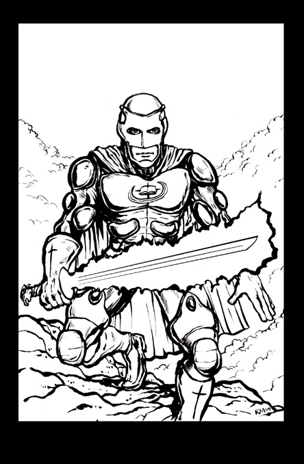 comic coloring pages - bible1