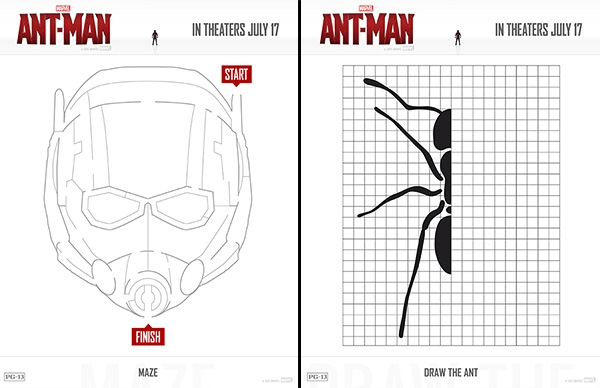 comic coloring pages - free printables marvels ant man coloring pages and activity sheets