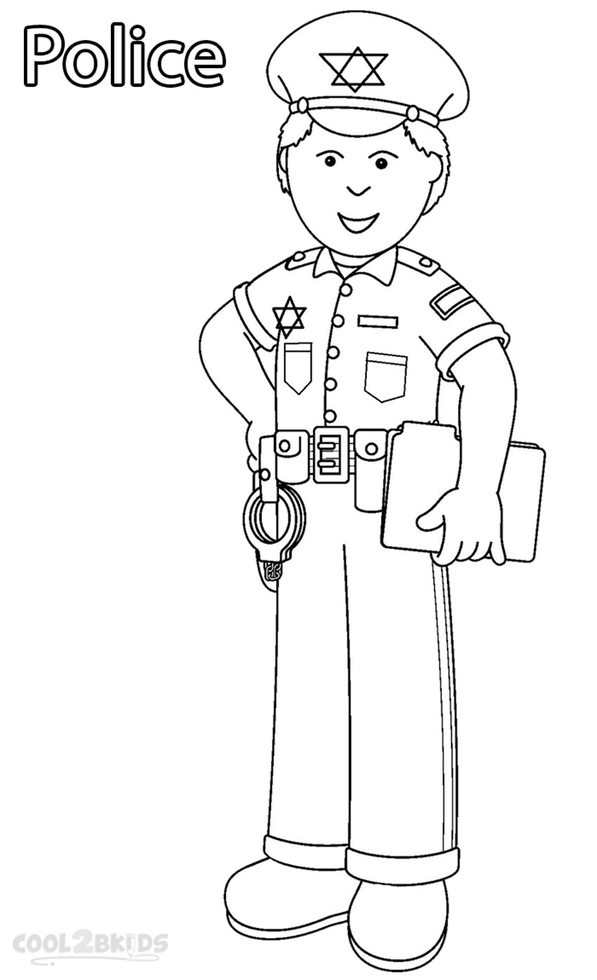 Community Helpers Coloring Pages - Printable Munity Helper Coloring Pages for Kids