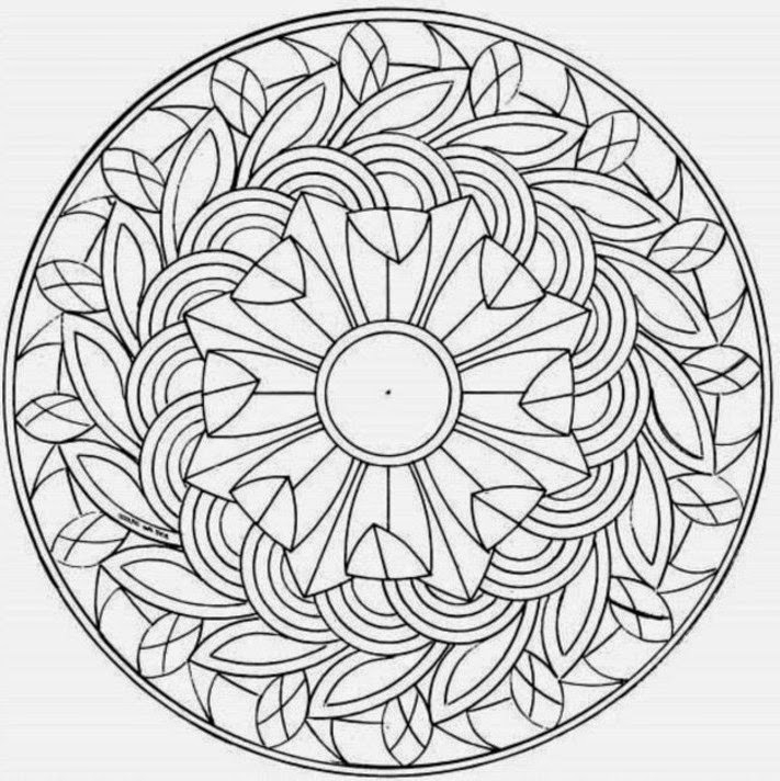 complex coloring pages - coloring pages