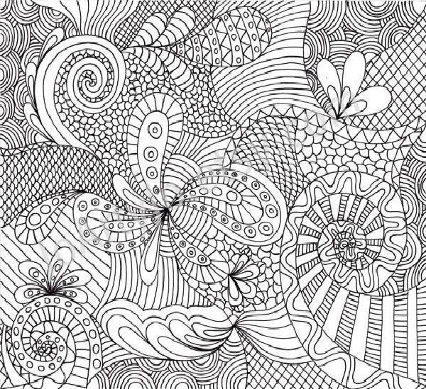 complicated coloring pages -