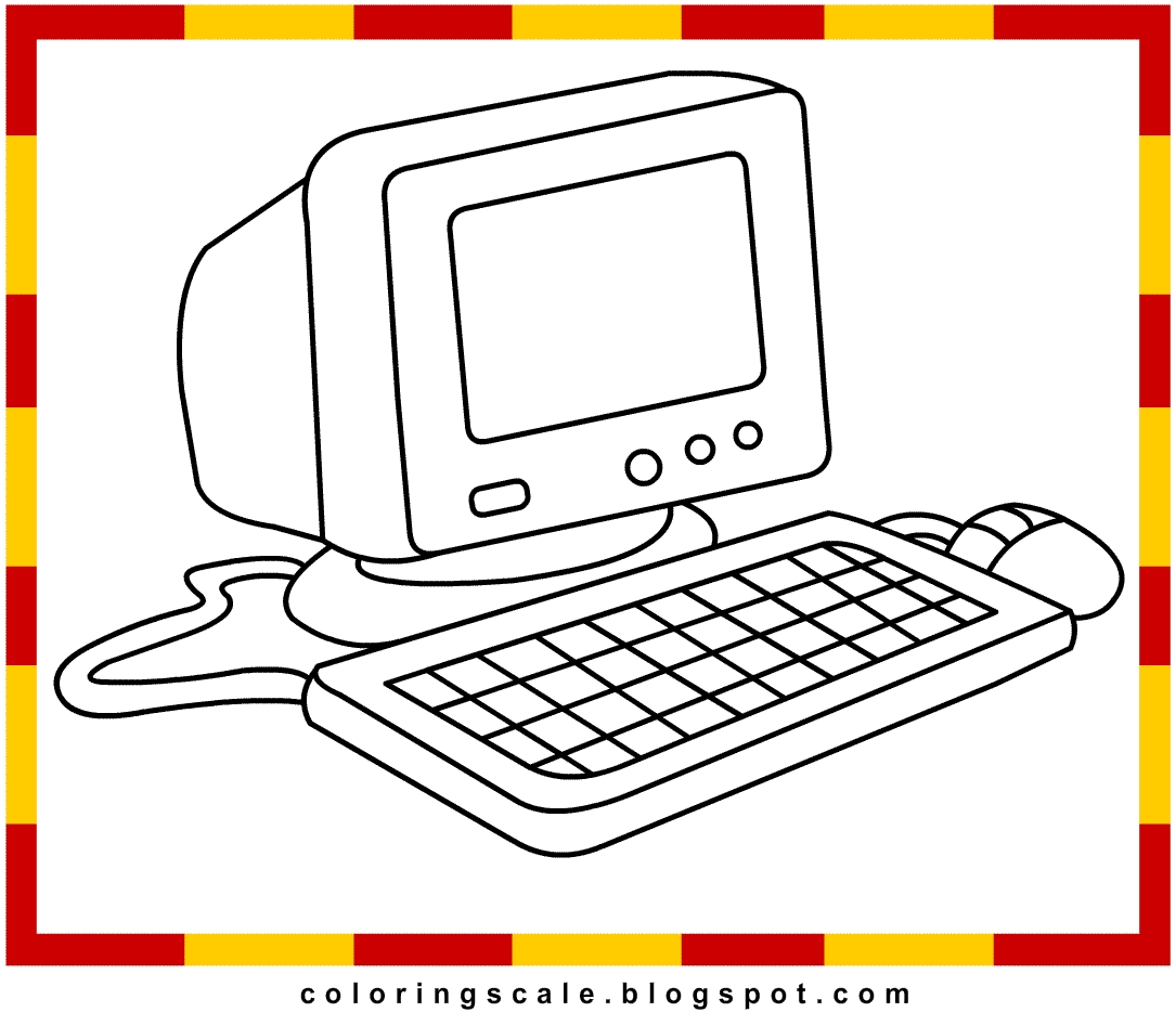 27 Computer Coloring Pages Collections | FREE COLORING PAGES ...